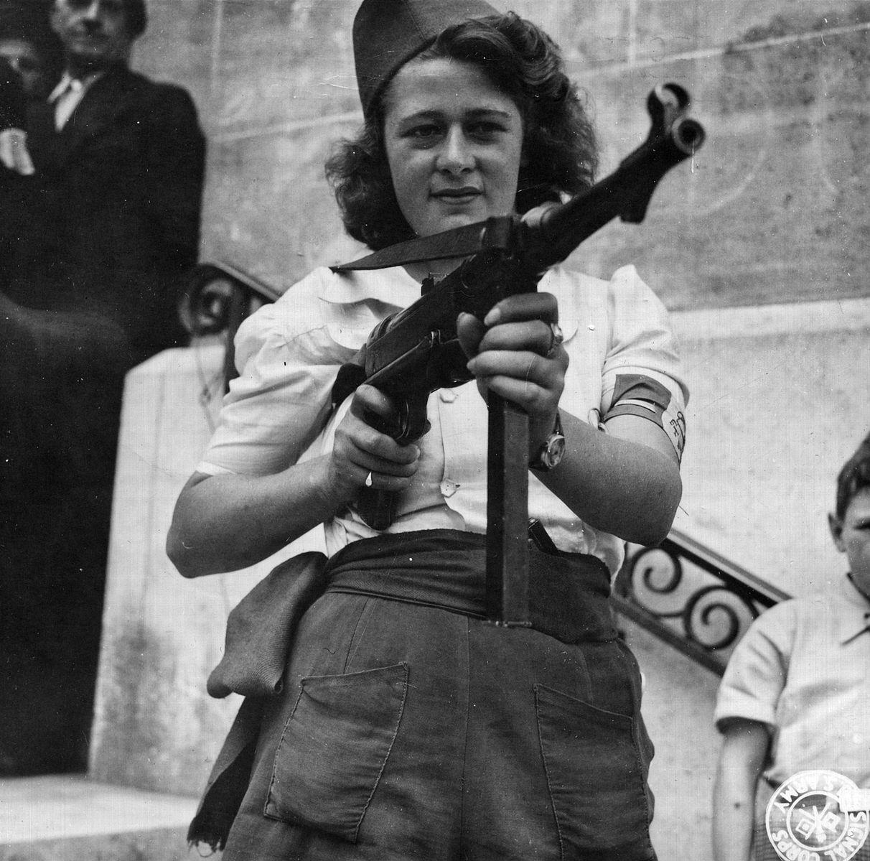 Nicole, partisane à Chartres le 23 août 1944