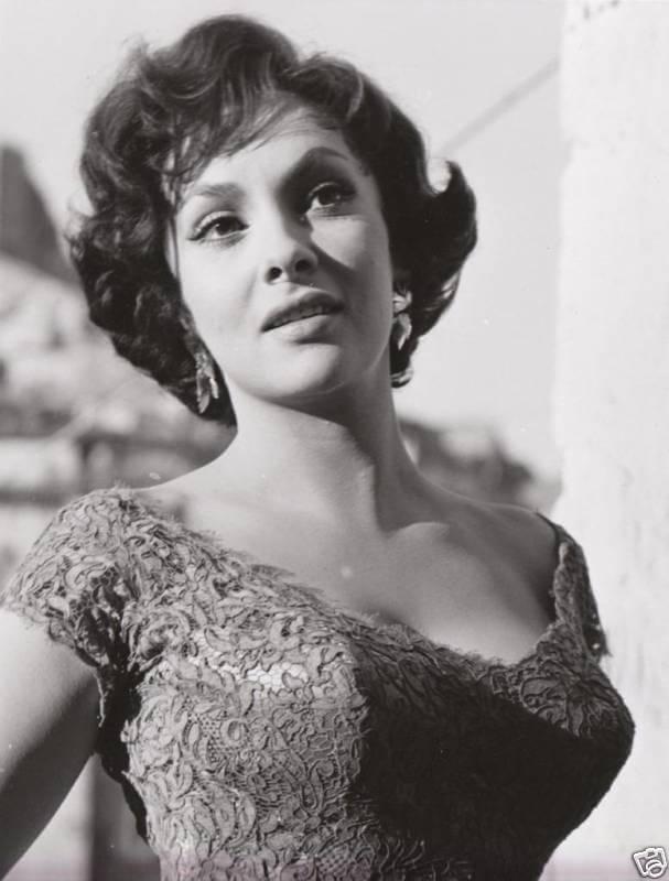 Gina Lollobrigida dans les années 60.