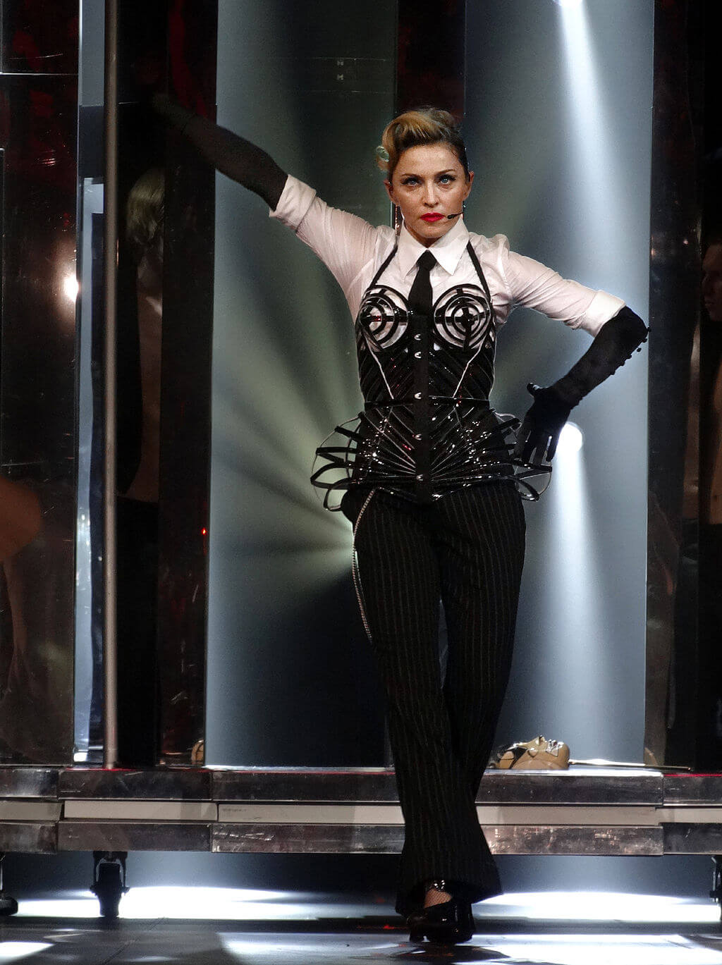 Madonna à l'Olympia